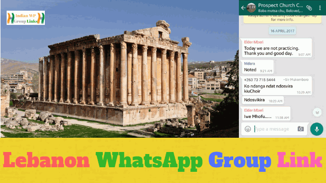 239+ Best Lebanon Whatsapp Group Link List 2019