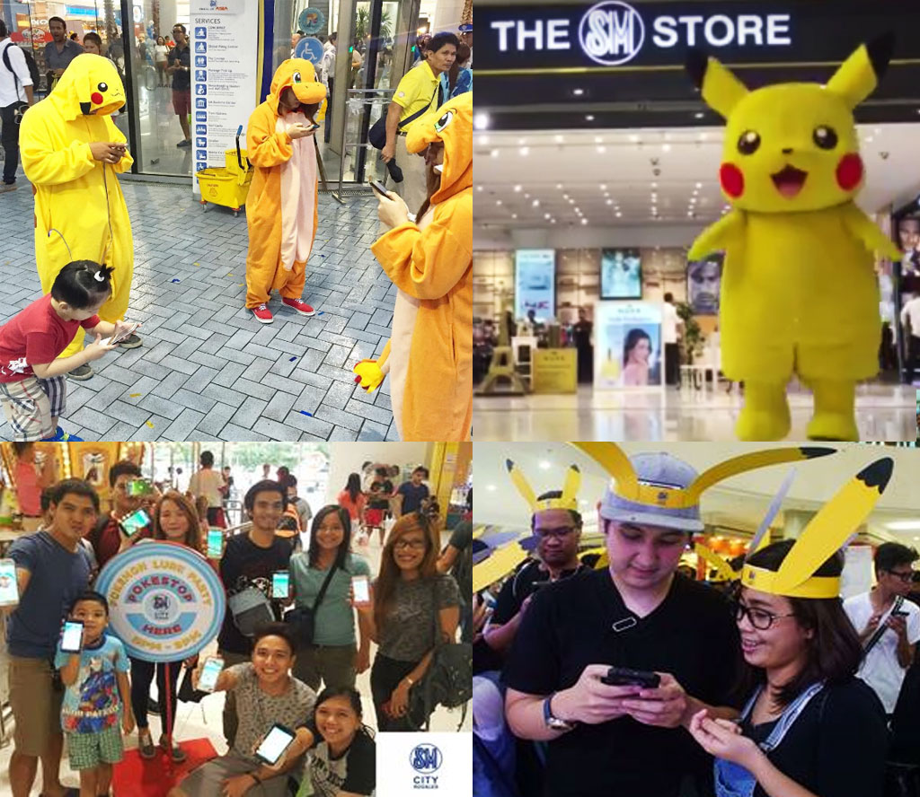 SM Malls Pokemon GO Lure Party at SM North EDSA