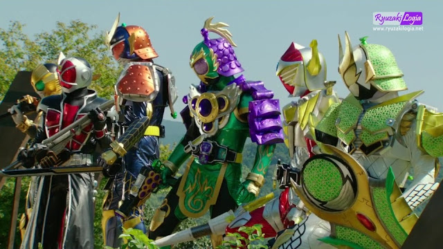 Kamen Rider Gaim x Wizard: The Fateful Sengoku Movie Battle Subtitle Indonesia