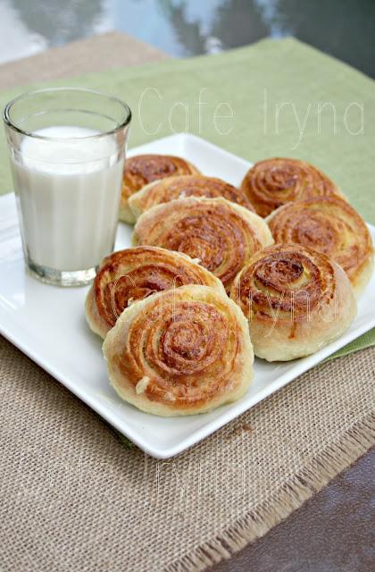лимонные булочки рецепт с фото