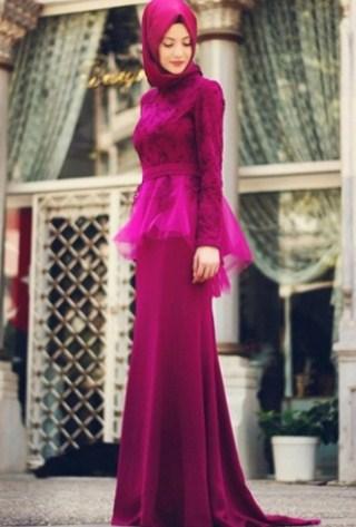 30 Model Baju Muslim Brokat Terbaru 2018 Desain Cantik Dan Mewah