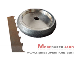 Electroplated CBN Grinding Wheel For Band Saw Blades