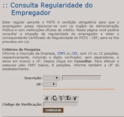 Certidão FGTS - Como Consultar Certidão FGTS Online
