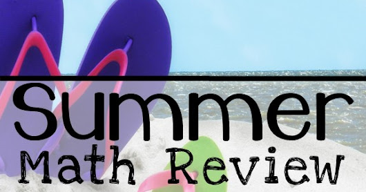 Summer Math Review Grade K-1