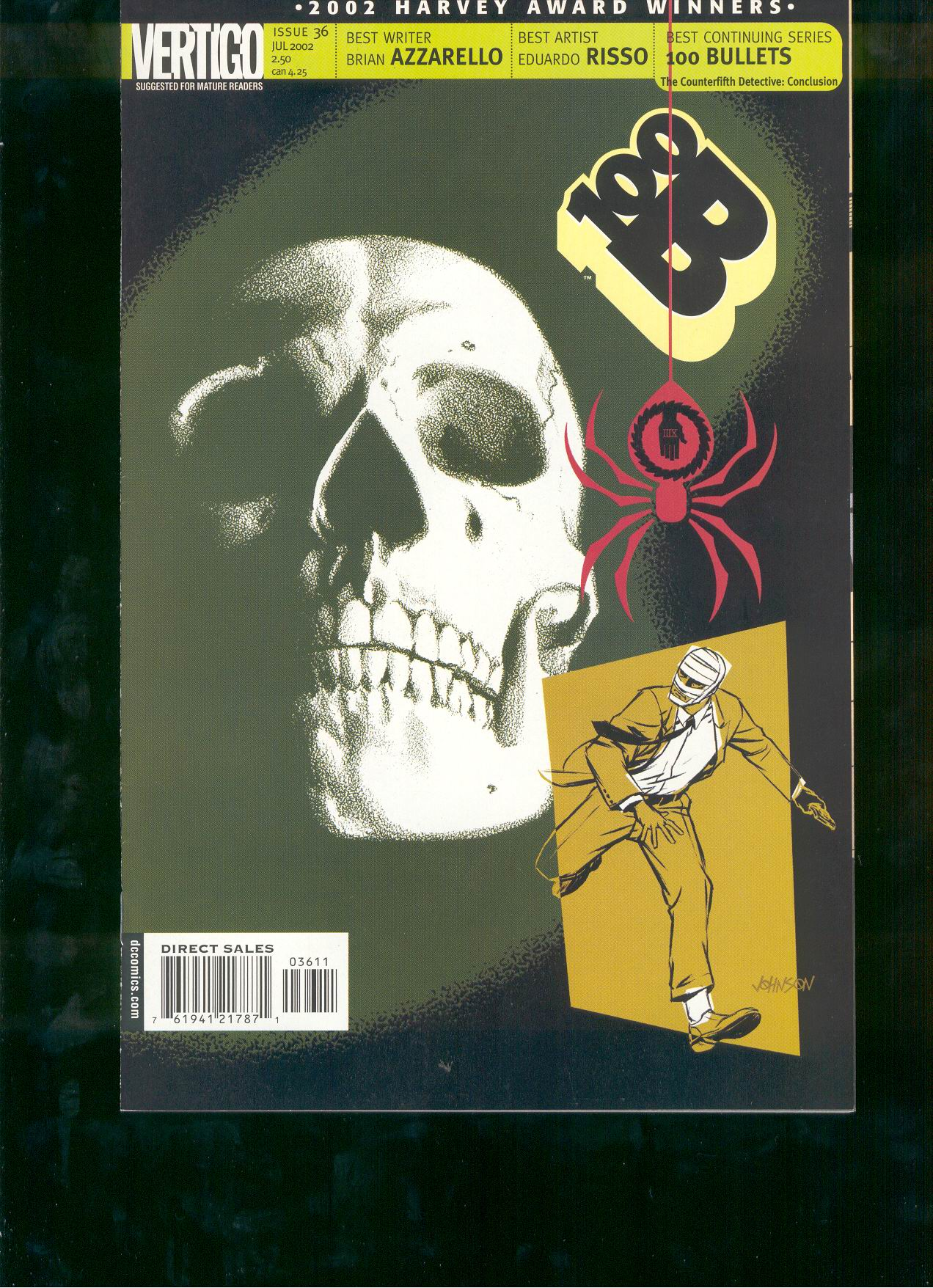 Read online 100 Bullets comic -  Issue #36 - 1