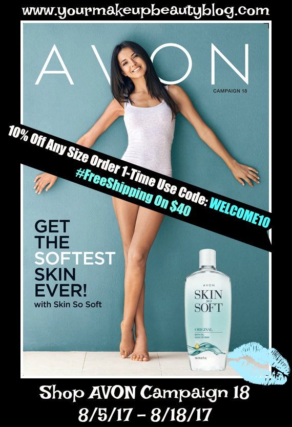 Click Me To View Your Avon Campaign 18 eBrochure - Get The Softest Skin EVER!