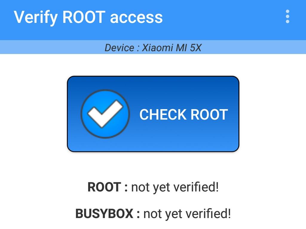 Vérificateur de ROOT Android