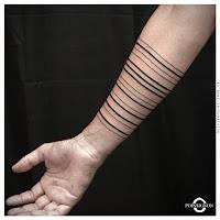 tatouages lignes clermont ferrand