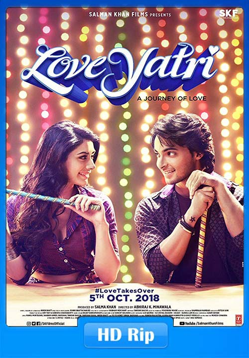 Loveyatri - The Journey of Love 2018 Hindi 720p HDRip x264 | 480p 300MB | 100MB HEVC Poster