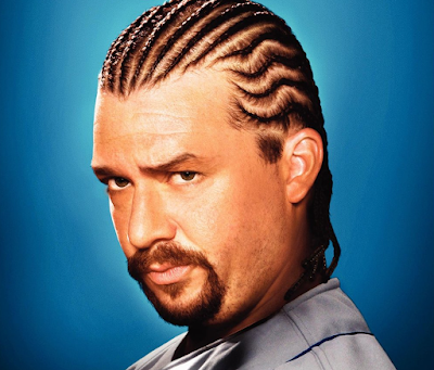 Model Rambut Cornrows
