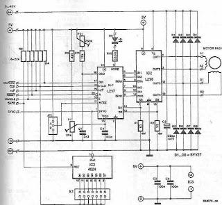 Stepper Motor Driver Circuit Diagram | Simple Schematic ...