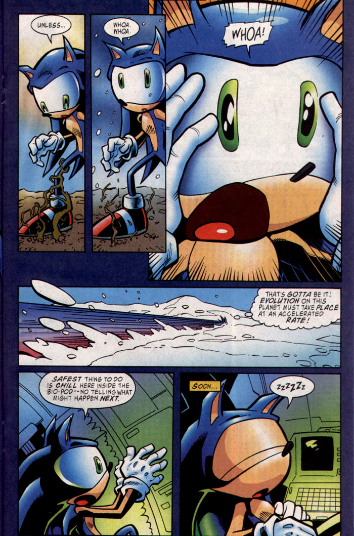 Read online Sonic The Hedgehog comic -  Issue #127 - 13