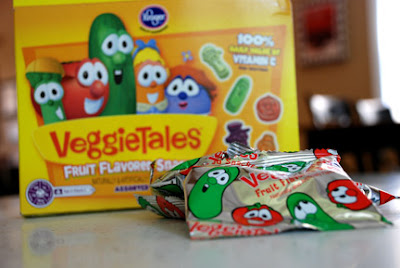 Veggie Tales fruit snacks