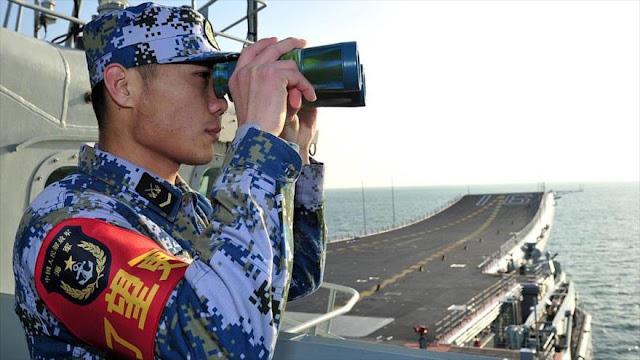China espía desde un buque en Alaska prueba de THAAD de EEUU