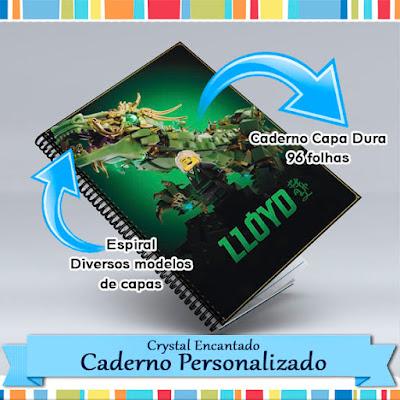 Caderno Personalizado Lego Ninjago