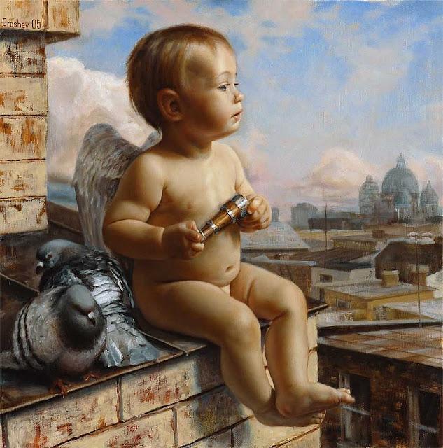 Slava Groshev | Russian Figurative Painter | 1967