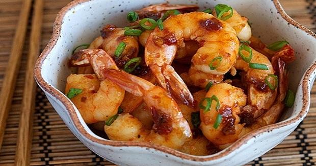 Shrimp With Spicy Garlic Sauce Recipe