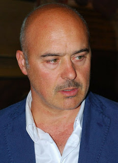 Luca Zingaretti, instantly recognisable as Inspector Montalbano