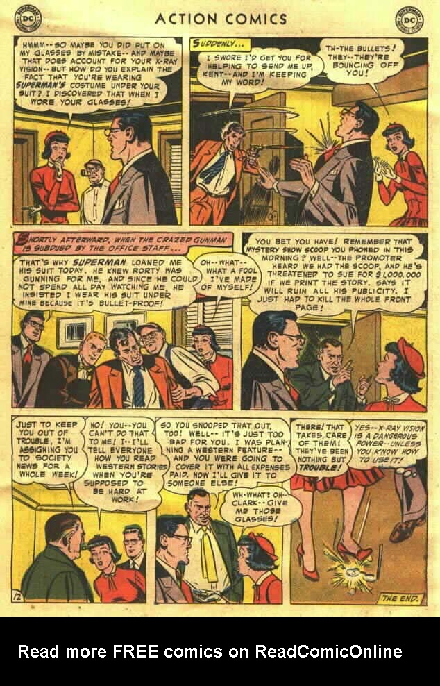 Read online Action Comics (1938) comic -  Issue #202 - 14