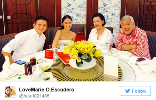 Baby planning this 2016 for Chiz and Heart Escudero