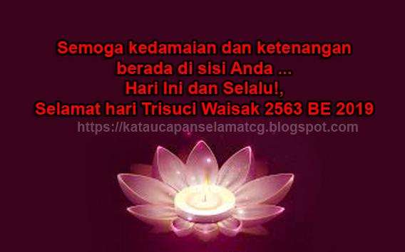 Kumpulan Kata Kata Mutiara Buddha Ucapan Selamat Hari Raya Waisak Terbaru