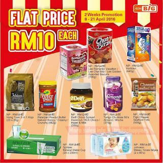 AEON BiG Flat Price Promotion