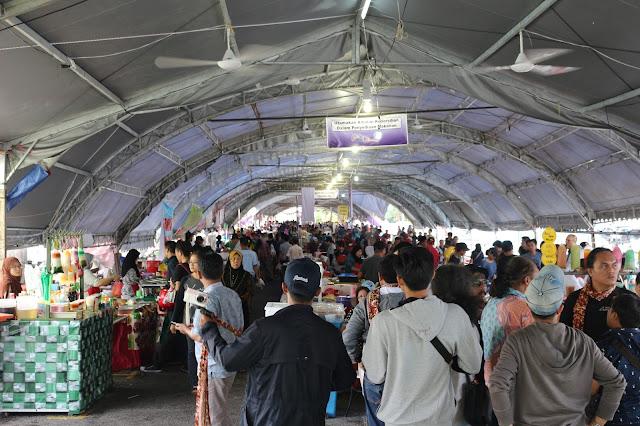 Pasar Ramadhan Setutong di Kuching