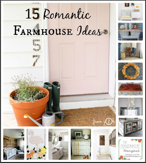 15 Ideas for your Romantic Farmhouse #fg2b