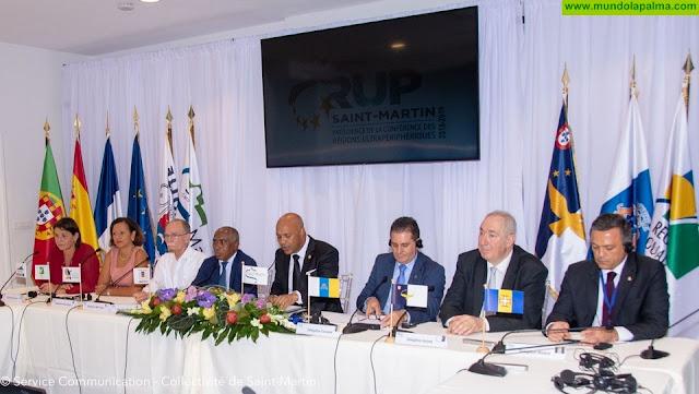 Las RUP asumen la propuesta canaria para instar a Bruselas a modular la aplicación de la tasa al queroseno