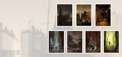 Batman's Rogues Gallery Fine Art Giclee Prints by Mark Chilcott x Bottleneck Gallery