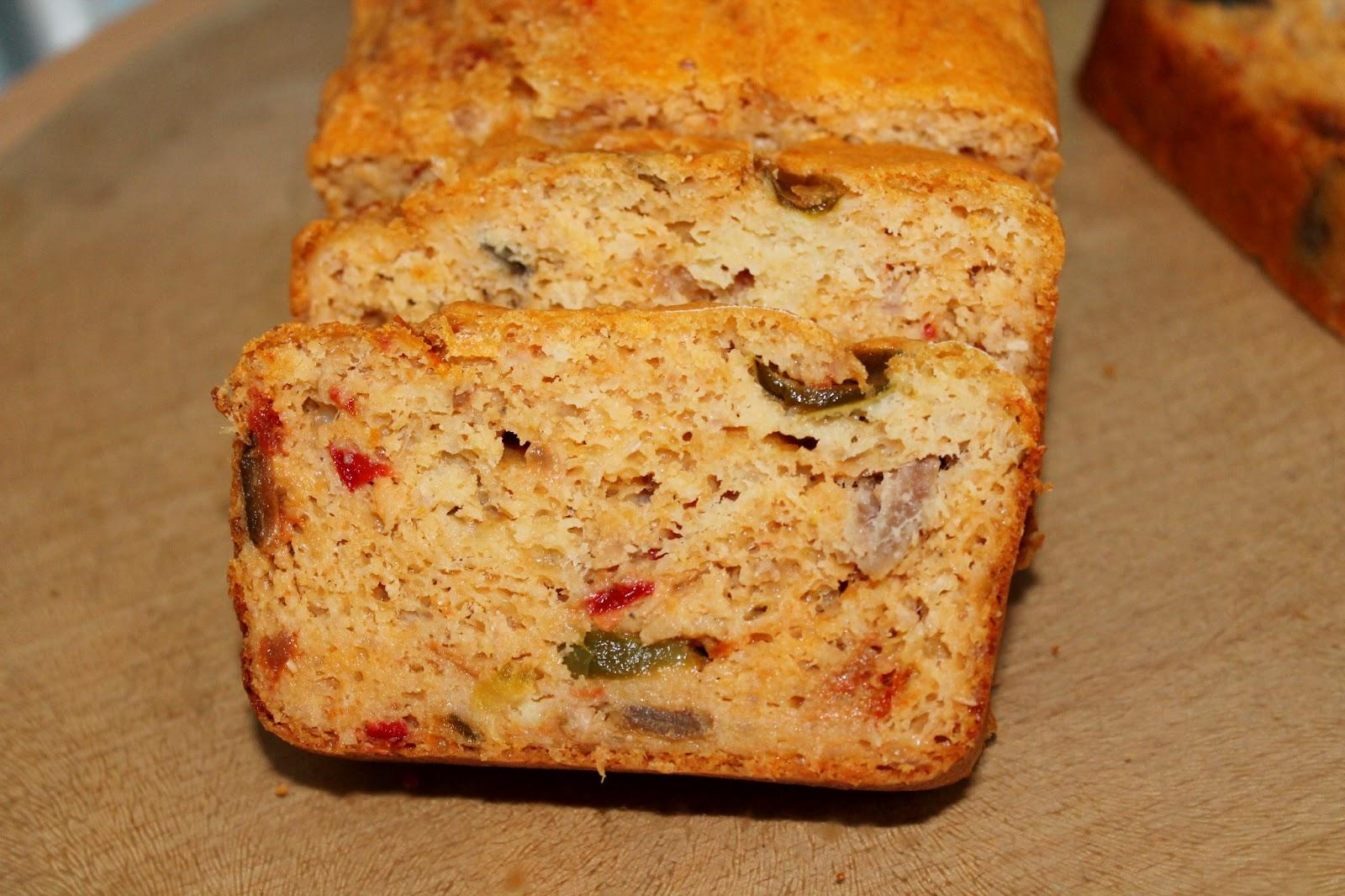 Cake Thon Tomate Courgette Sans Lait