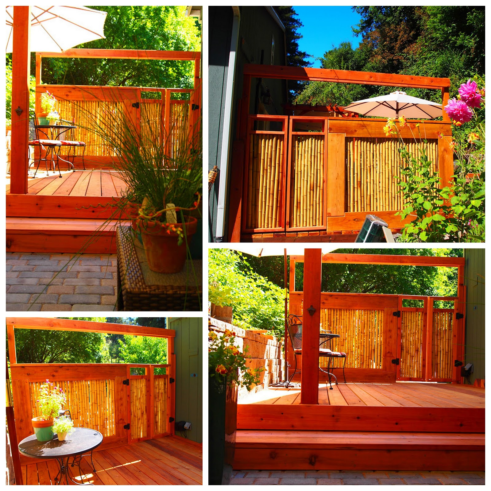 So Nice Actually, The Company They Purchased The Bamboo From Has Entered  Their Fence Into Their Project Of The Month Contest. And For Good Reason!