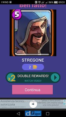Indovina la carta Royale soluzione livello 28