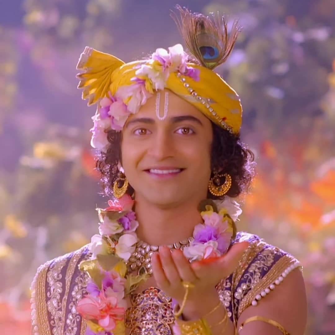 IND 彡Radha Krishna Quote彡 - तू करता वही है, जो तू चाहता है।