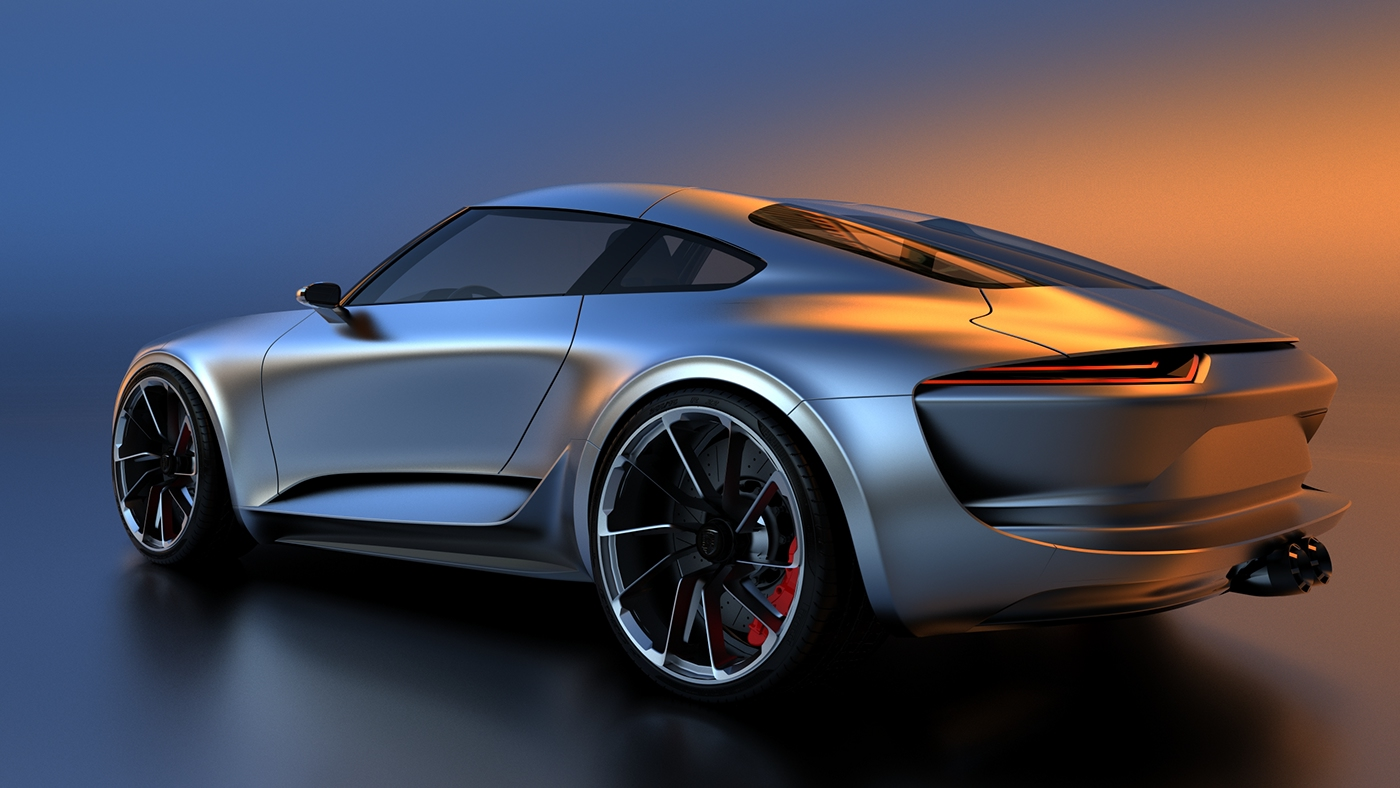 Does The Porsche 911 Work With Mission E Inspired Styling