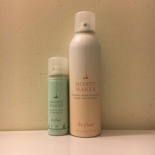 Drybar, Drybar Money Maker Flexible Hold Hairspray, travel size, full size, hairspray, hair products, hair treatment, Sephora