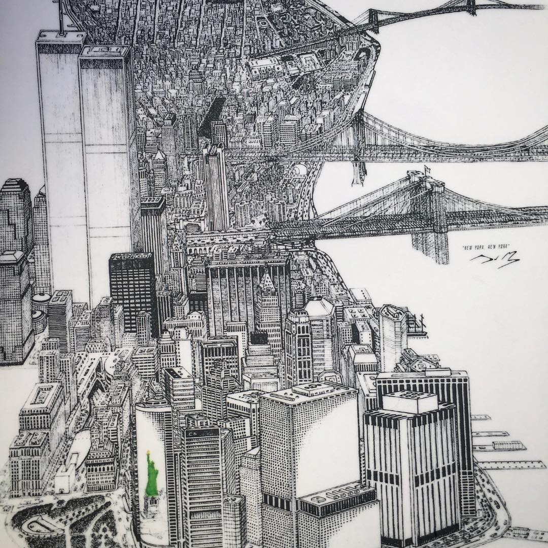 09-New-York-Jeff-Murray-Detailed-Miniature-Real-and-Imaginary-Urban-Drawings-www-designstack-co