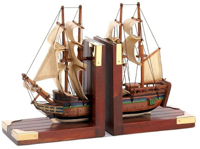 Ship Themed Bookend