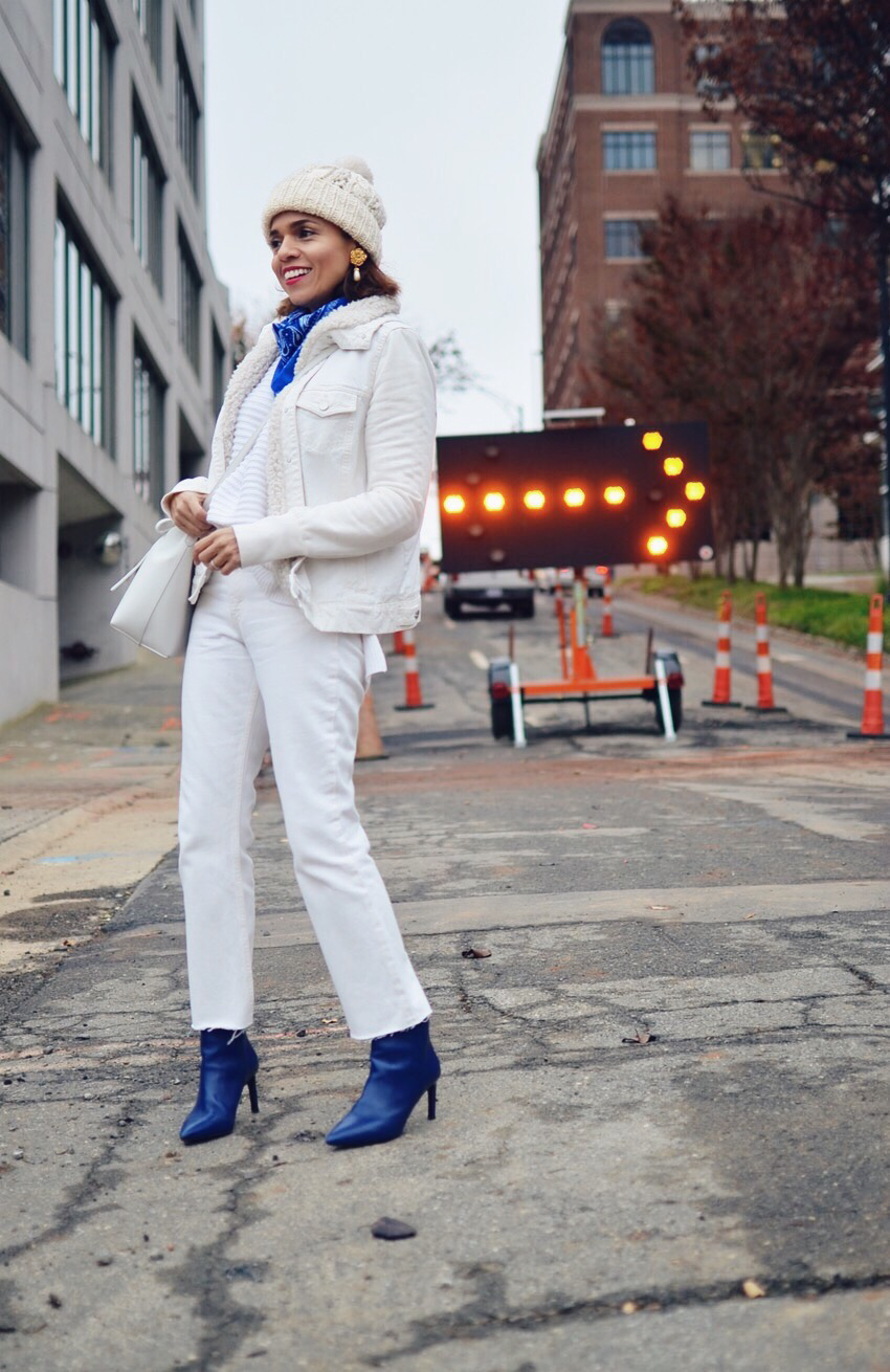 All White Outfit Street Style