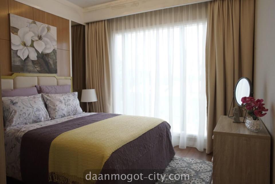 Show unit kamar apartemen DAMOCI Daan Mogot City
