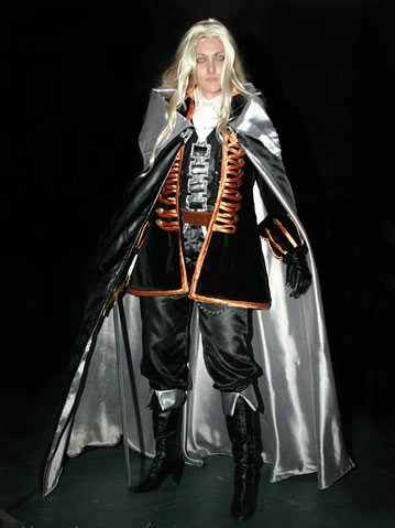 Cosplay para Halloween Castlevania