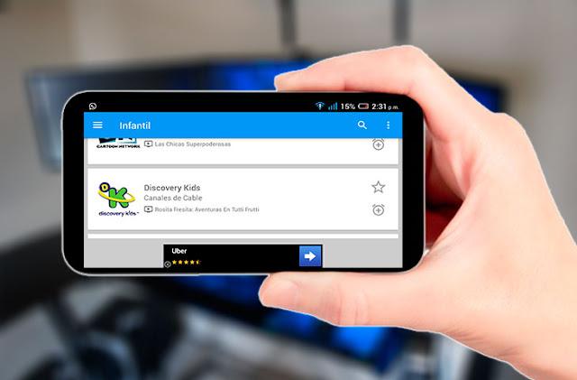Cómo ver televisión por cable totalmente gratis desde tu Android