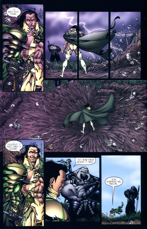 Read online Sigil (2000) comic -  Issue #4 - 31