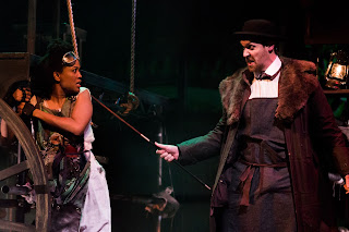 Keisha Atwell, Dickon Gough - photo Ed Sunman