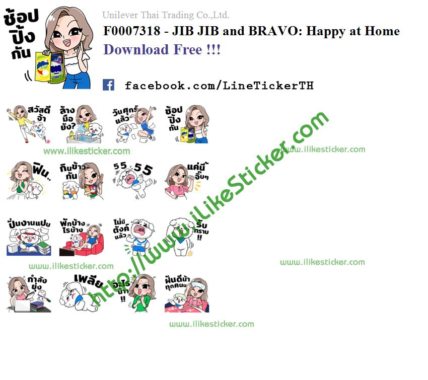 JIB JIB and BRAVO: Happy at Home