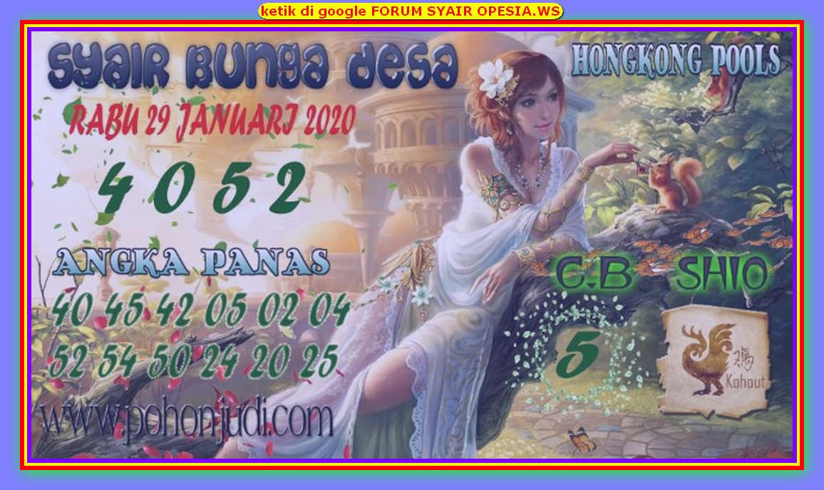 Kode syair Hongkong Rabu 29 Januari 2020 142