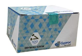 Gypsum ceiling material GYPROC SCREW