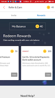 wynk music refer and earn rewards