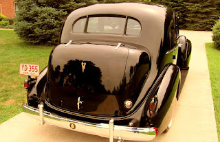 1937 Cadillac Fleetwood Brougham Rear