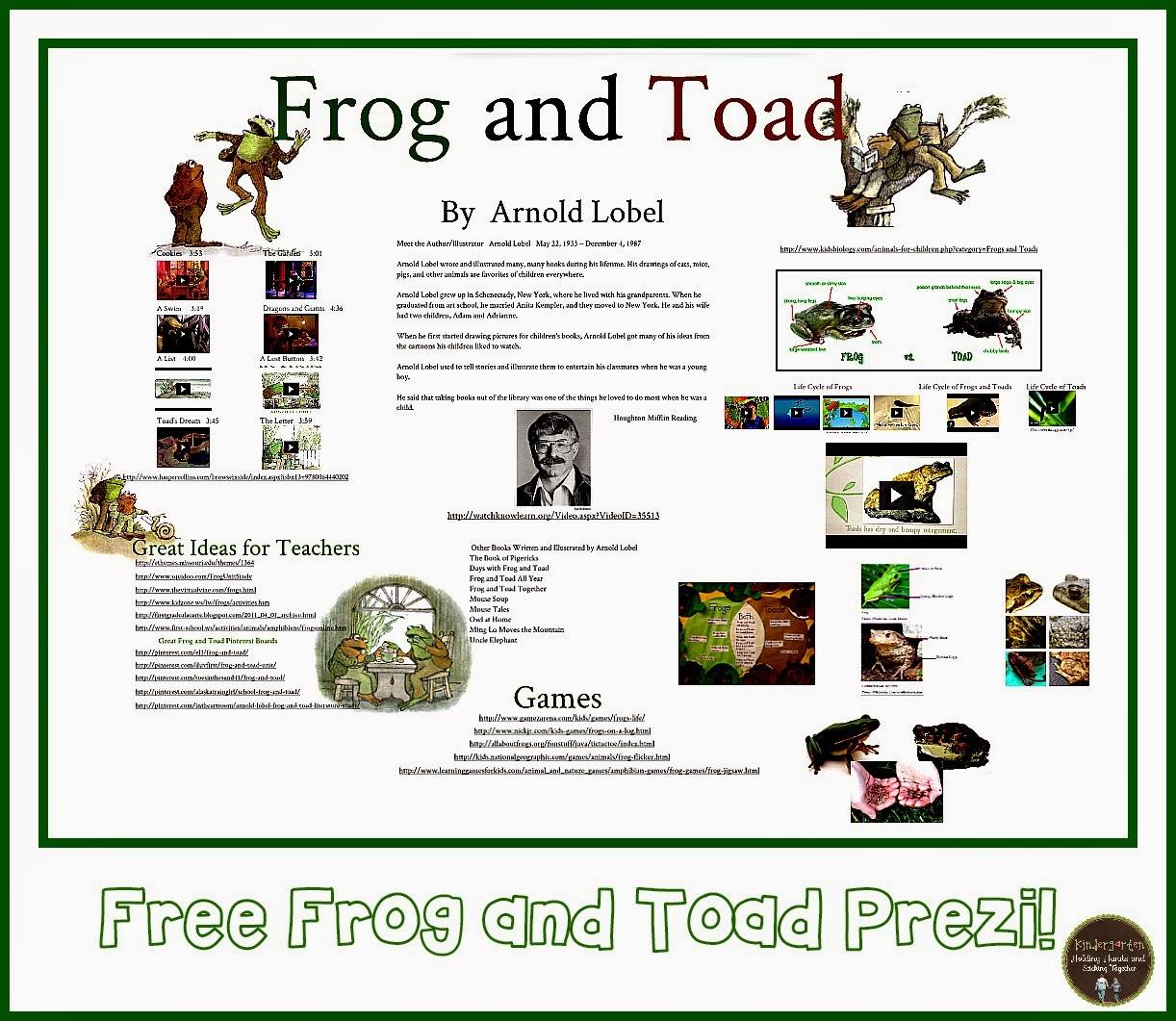 Kindergarten Holding Hands And Sticking Together Frog